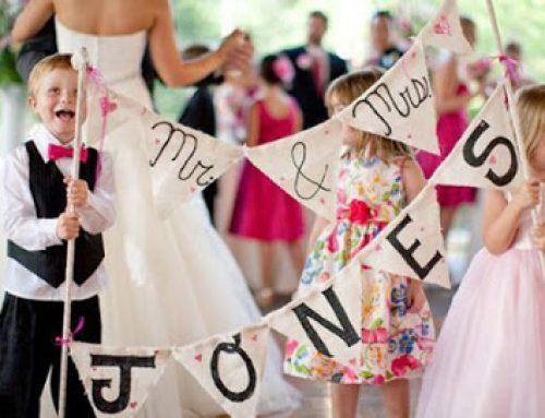 5 idee per un Matrimonio a misura di bambino: baby wedding day, picnic sul prato e partecipazioni orginali